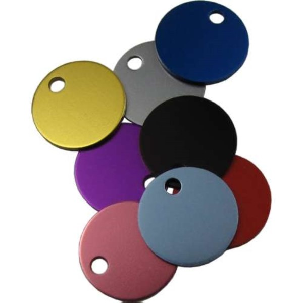 Disc Pet Tag 19mm