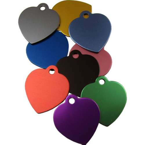 Heart Pet Tag 19mm