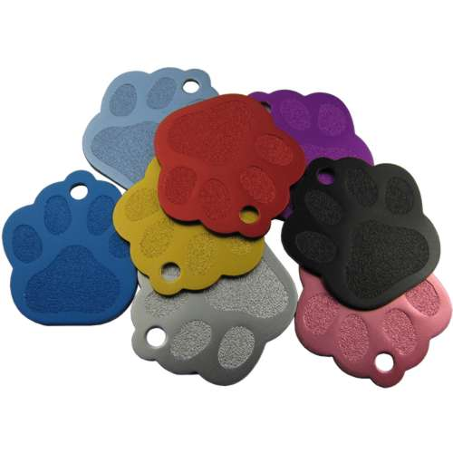 Paw Pet Tag 28mm