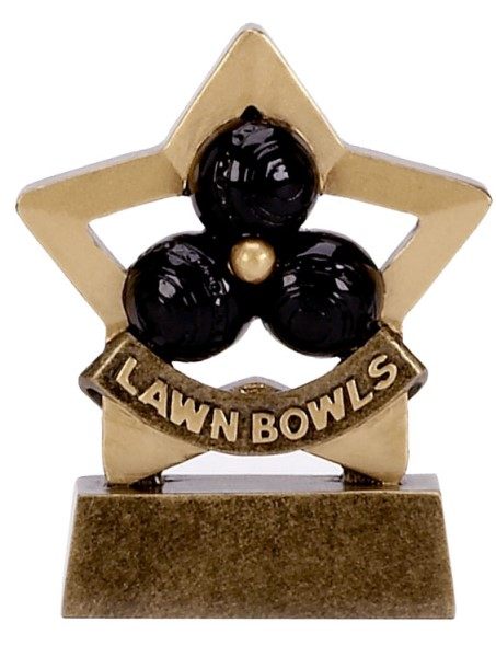 Mini Star Resin Bowls Trophy