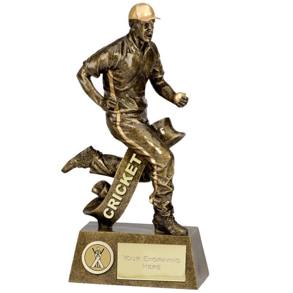 Pinnacle Fielding Cricket Trophy 15cm