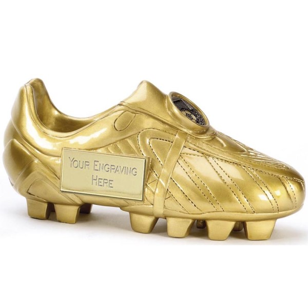 Man of the Match Golden Football Boot Trophy