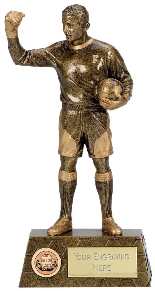 Pinnacle Goalkeeper Figure Trophy