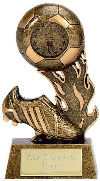 Scorcher Resin Football Trophy