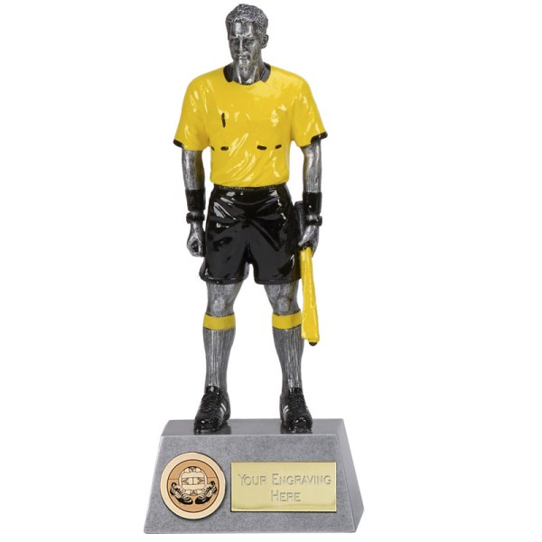 Pinnacle Linesman Figure Trophy