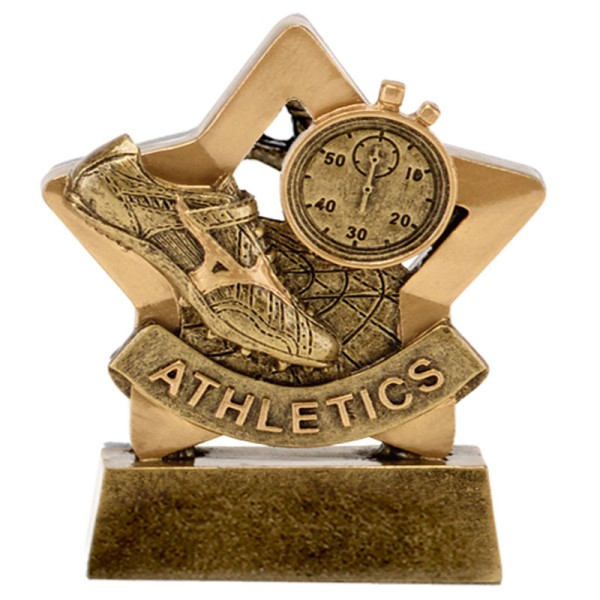 Mini Star Resin Athletics Trophy