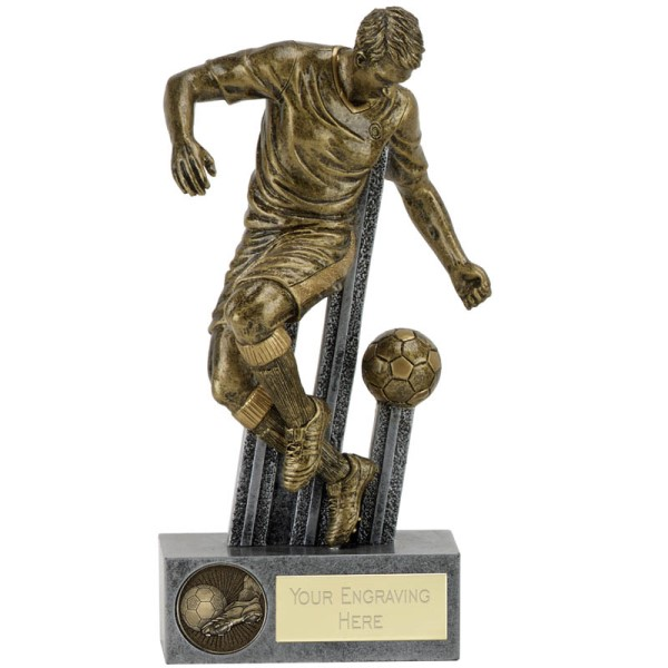 Attitude Football Figure Trophy