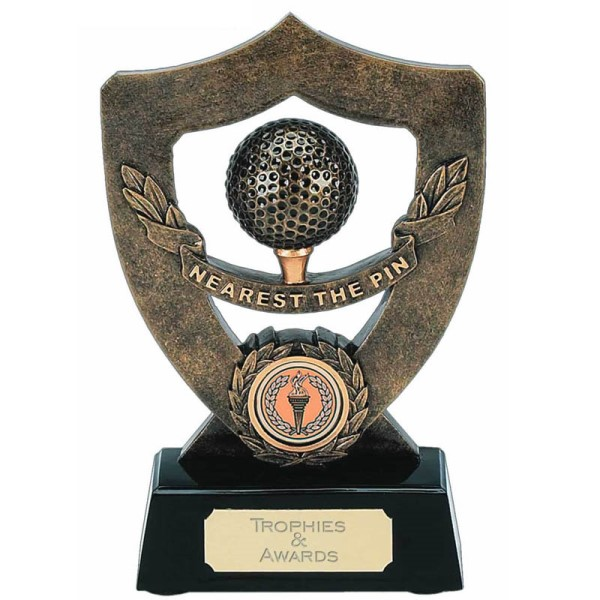 Celebration Shield Golf Trophy - NEAREST THE PIN