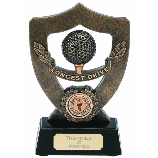 Celebration Shield Golf Trophy - LONGEST DRIVE