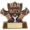 Football Man of the Match Trophi