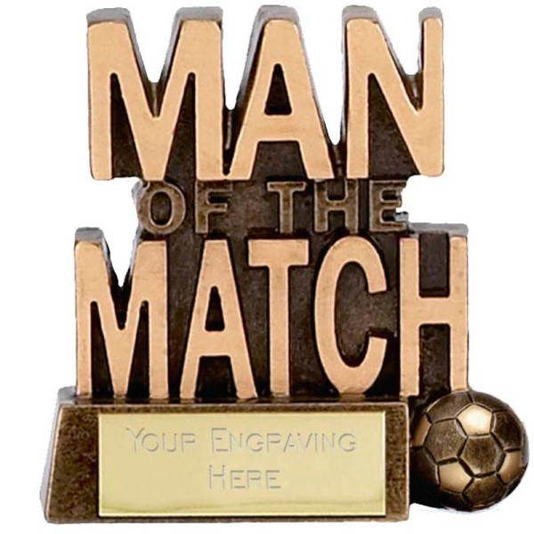 Man of the Match Trophy (Words)