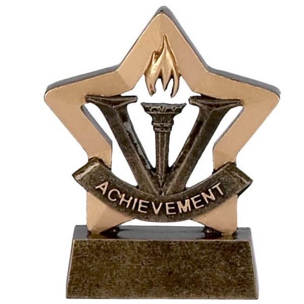 Mini Star Resin Achievement Trophy