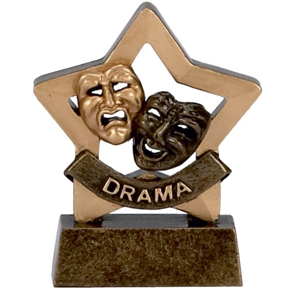 Mini Star Resin Drama Trophy