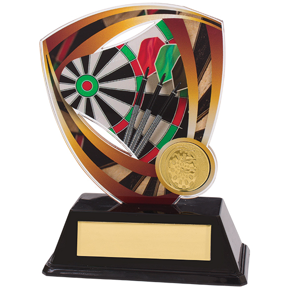 Fortress Darts Acrylic Plaque 130mm
