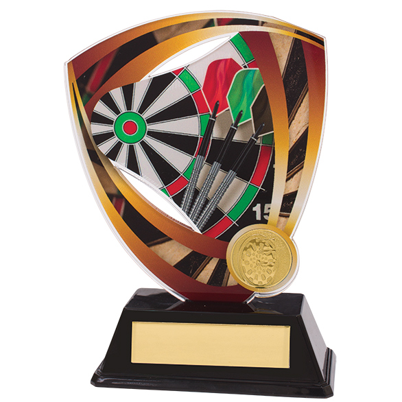 Fortress Darts Acrylic Plaque 155mm