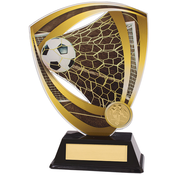 Fortress Football Acrylic Plaque 175mm