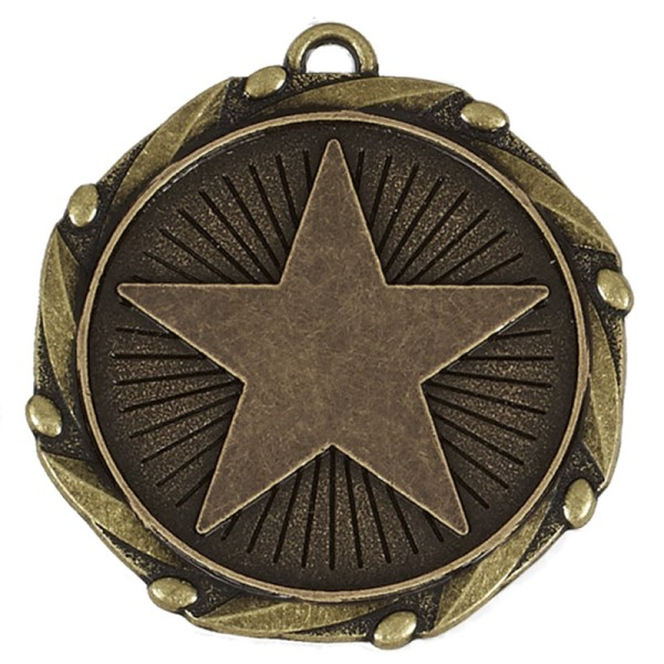 Combo Star medal and ribbon