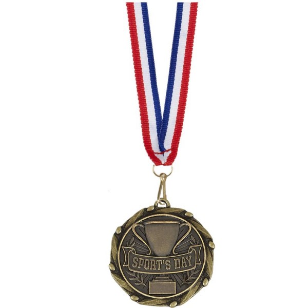 Combo Sports Day Medal & Ribbon