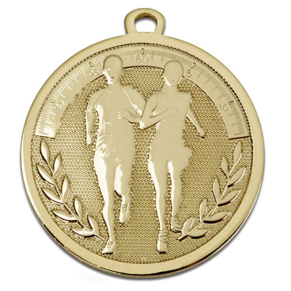 GALAXY Running Medal Gold
