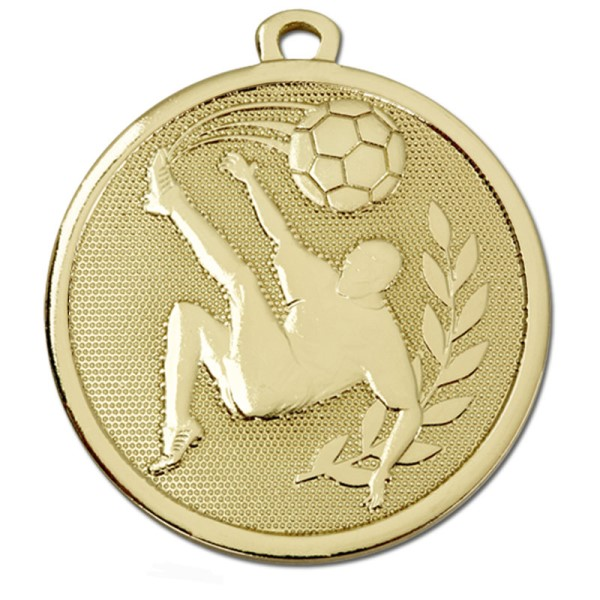GALAXY Football Kick Medal Bronze