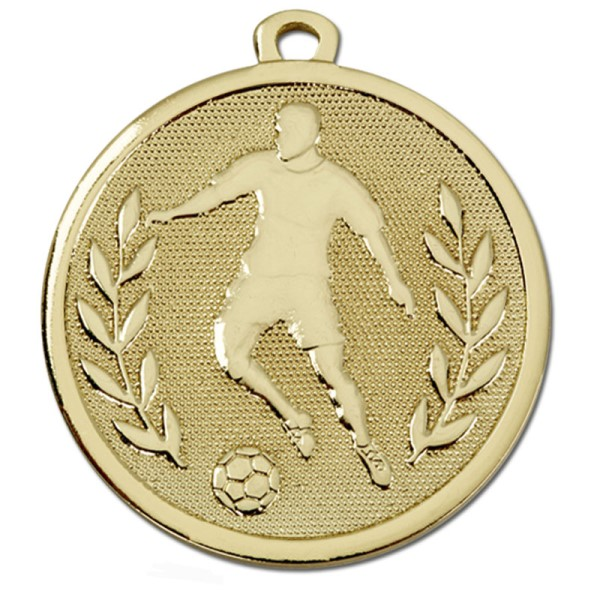 GALAXY Footballer Medal Gold