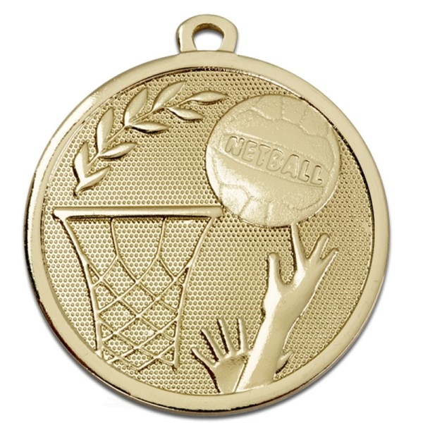 GALAXY Netball Medal Gold