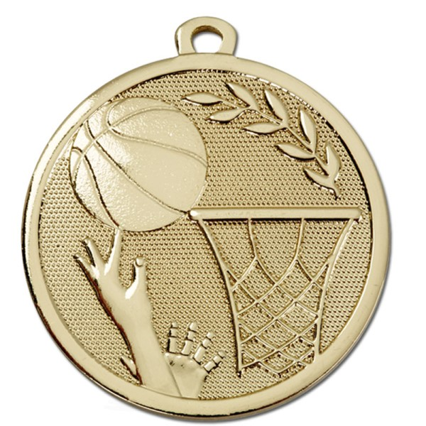 GALAXY Basketball Medal Gold