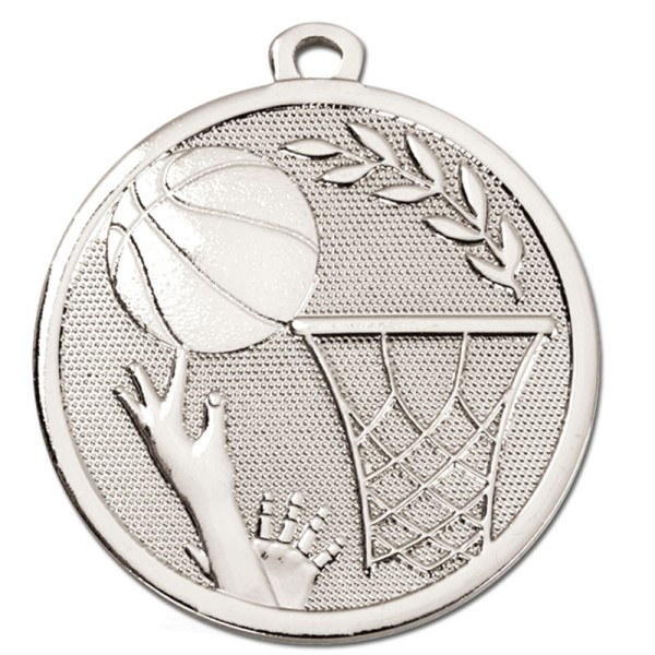 GALAXY Basketball Medal Silver