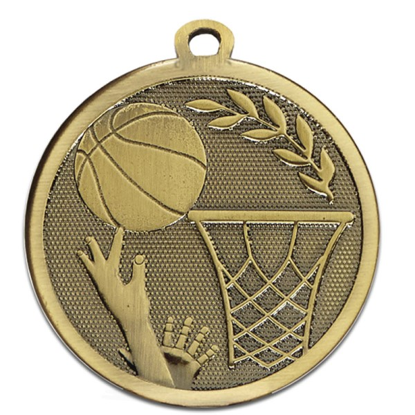 GALAXY Basketball Medal Bronze