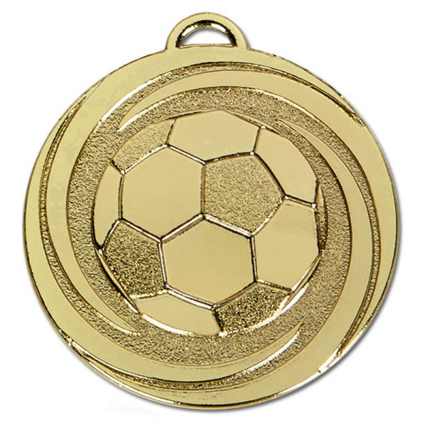 TARGET Twirl Football Medal Gold