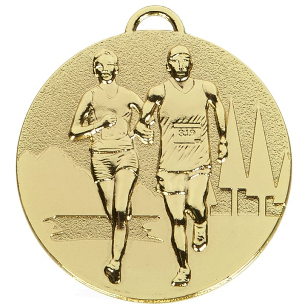 TARGET Cross Country Medal Gold