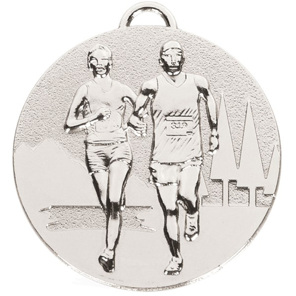 TARGET Cross Country Medal Silver