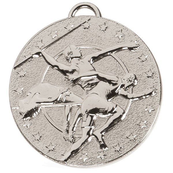 TARGET Track & Field Medal Silver