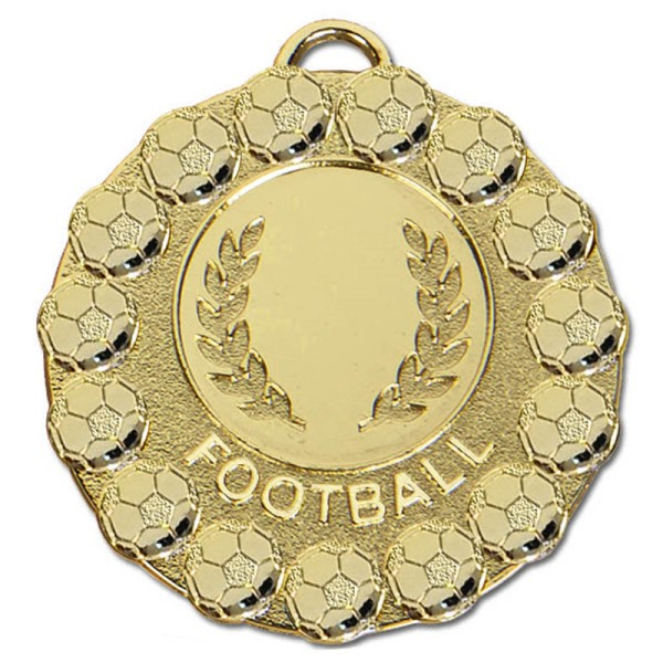 FIESTA Football Medal Gold