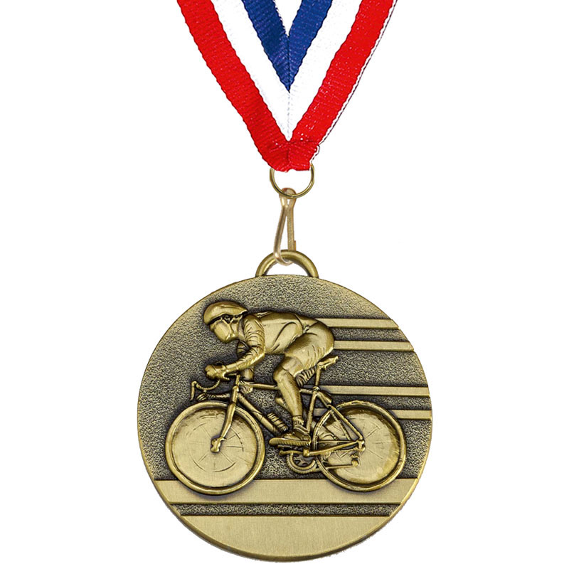 Target50 Cycling Medal with Ribbon - Bronze