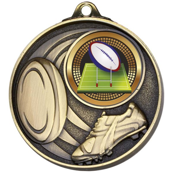 Stadium50 Rugby Medal