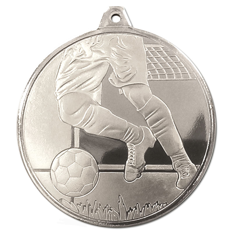 Frosted Glacier Football Medal Bronze