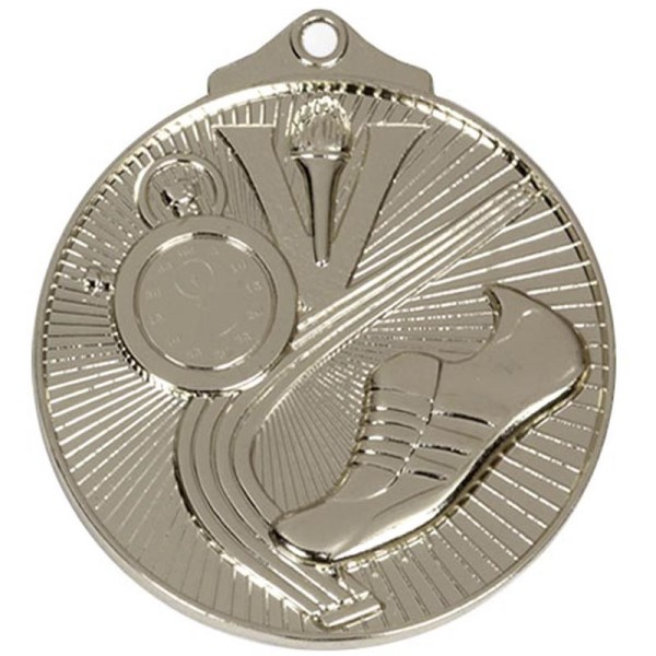 Horizon 52mm Track Medal Silver