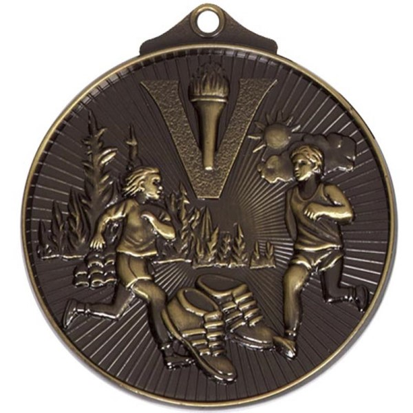 Horizon 52mm Cross Country Medal Bronze