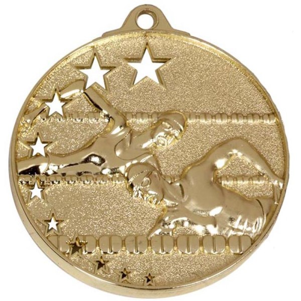 San Francisco 50mm Swimming Medal