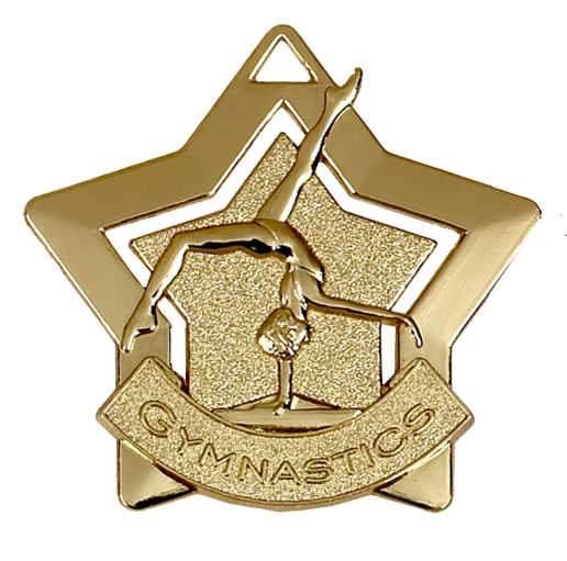 Mini Star Gymnastics Medal