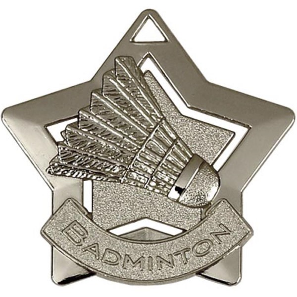 Mini Star Badminton Medal