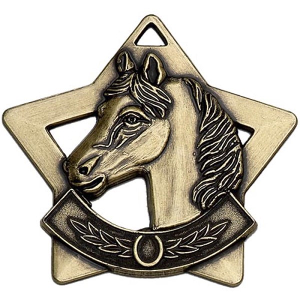 Mini Star Horse Medal