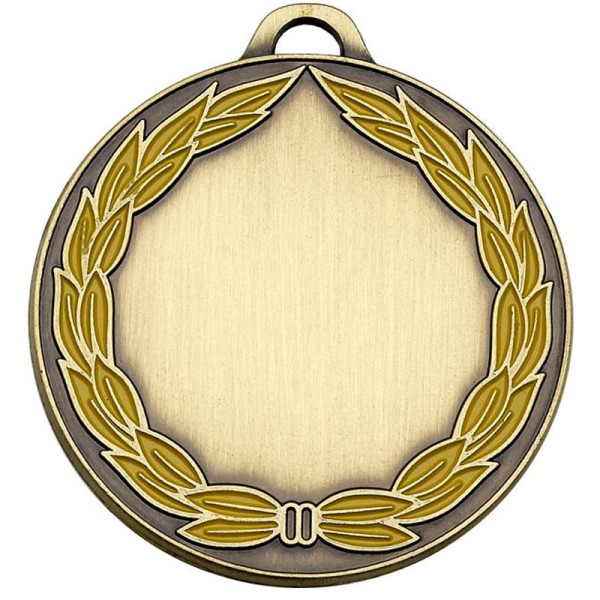 ClassicWreath50 Colour Medal
