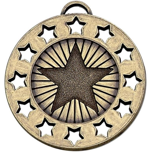 Constellation 40mm Medal Bronze