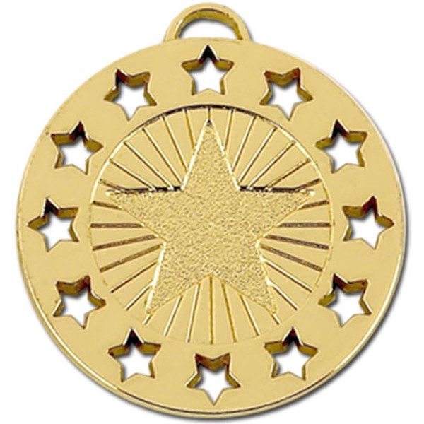 Constellation 40mm Medal Gold