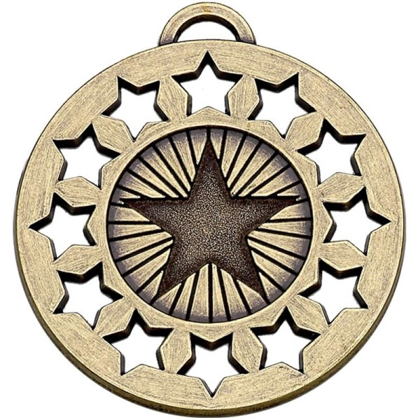 Constellation 50mm Medal Bronze