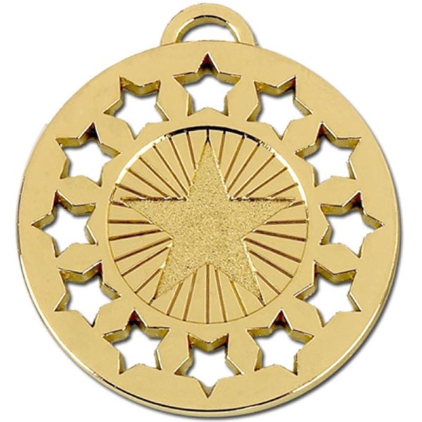 Constellation 50mm Medal Gold