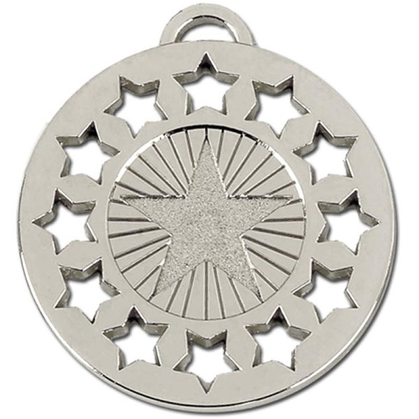 Constellation 50mm Medal Silver