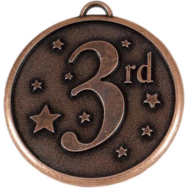 Elation Star 50mm 3rd Medal